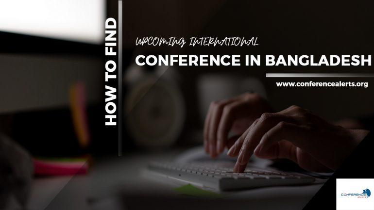 Upcoming International conference in Bangladesh